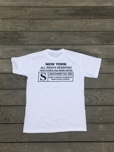 Rated S for Southampton Tee (White)