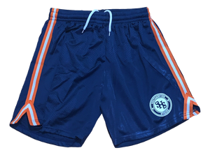 Basketball Mesh Shorts - Navy