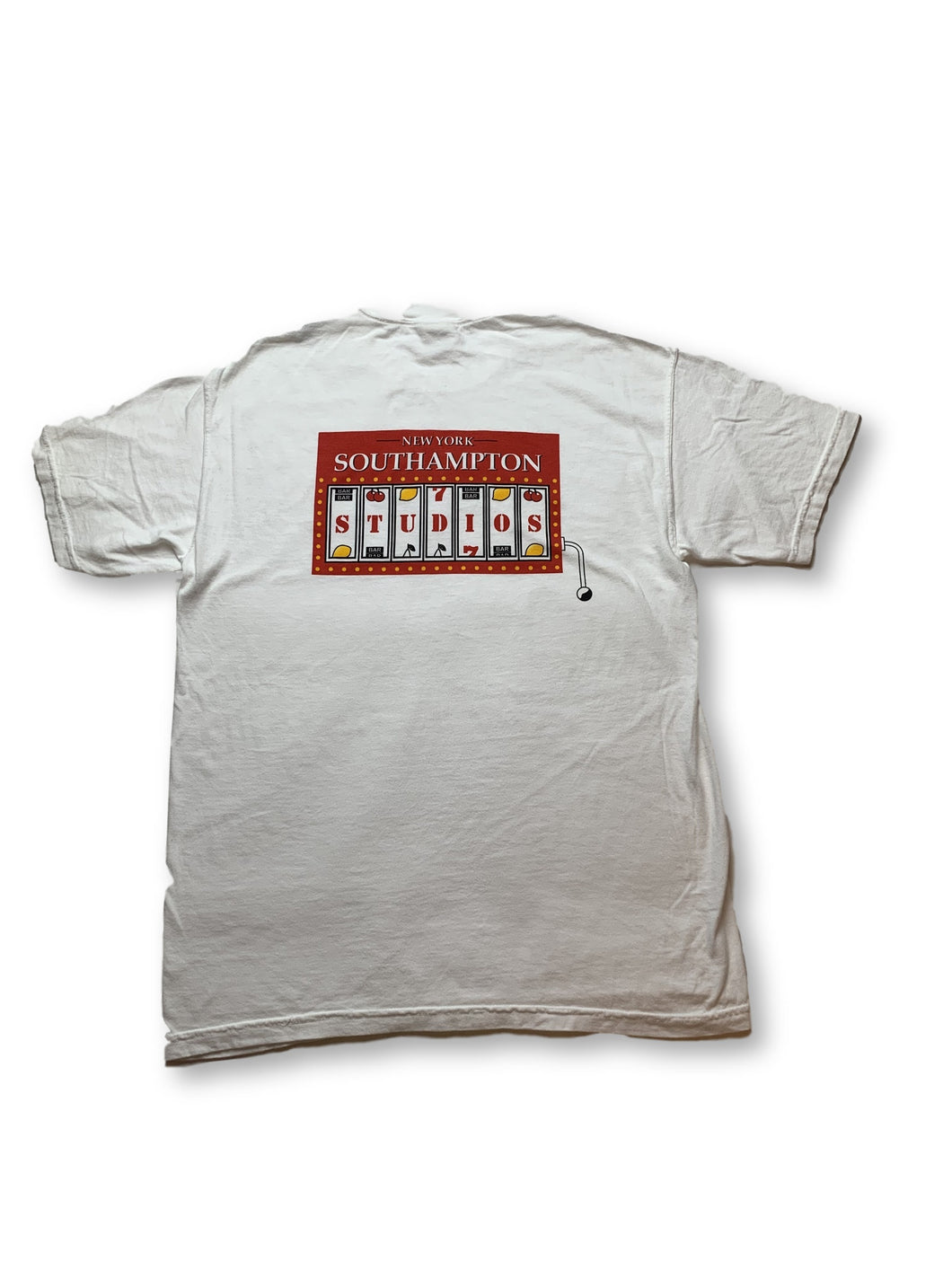 Slot Machine Tee (White)