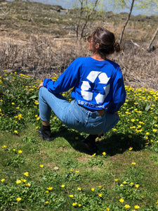 Earth Day 2018 Long Sleeve (Ocean Blue)