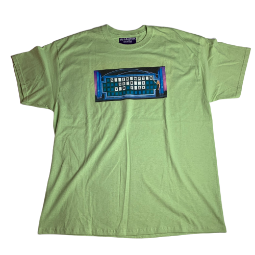 Wheel of Fortune Tee (Green)