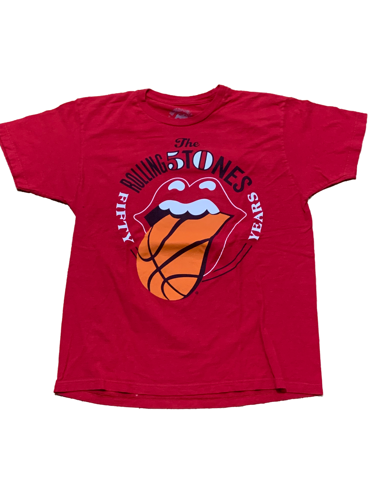 Vintage Rolling Stones Tee (Chicago Basketball)