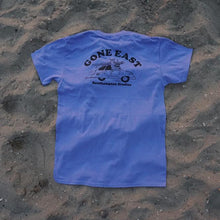 """Gone East"" Tee (Blueberry Pie)"