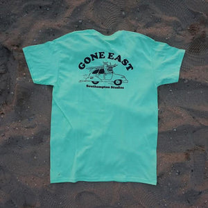 """Gone East"" Tee (Sea Foam)"
