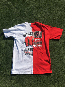 Wisconsin Rose Bowl Split Tee