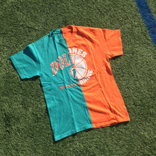 Miami Hurricanes / Dolphins Split T-Shirt