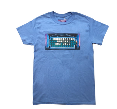 Wheel of Fortune Tee (Blue)
