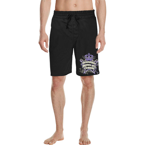 Warren Berkley Cheer Men's All Over Print Casual Shorts (Model L23)