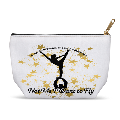 I just Want to Fly- Cheer Accessory Pouches-Style 2