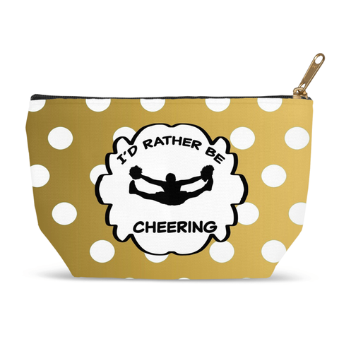 I Would Rather Be Cheering- Accessory Bag