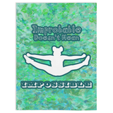 Cheerleading- Improbably Doesn't Mean Impossible- Minky Blanket