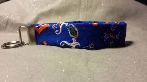 Florida Gator Fabric Key Fob's