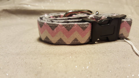 Fabric Custom Made Dog Collar's- Choose your size
