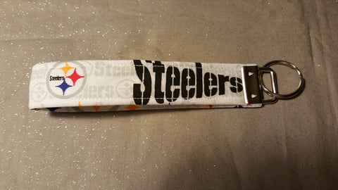 Steelers Fabric  Key Fob's