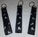 Figure Skating  Collection  Fabric  Key Fob's