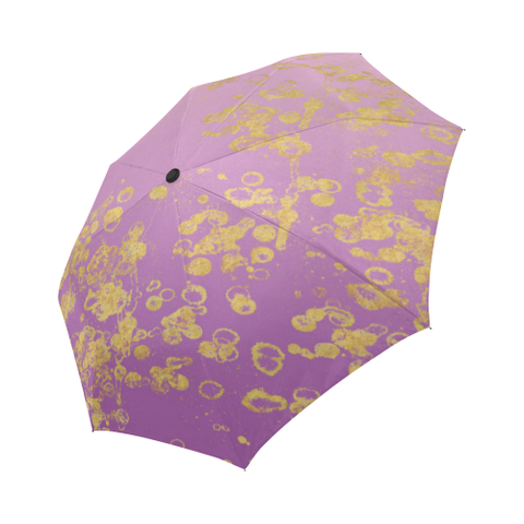 Purple  Ombre Auto-Foldable Umbrella