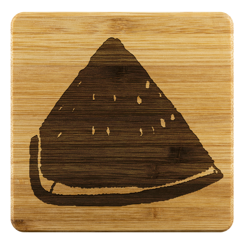Watermelon Bamboo Coaster Design