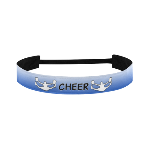 Cheer Sports Headband in CA Blue and White Gradient