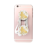 Figure Skating- Gold Skate Phone Holder-Style 9
