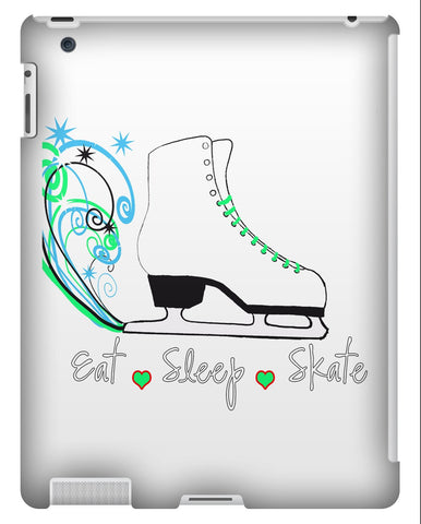 Eat Sleep Skate Tablet Cases