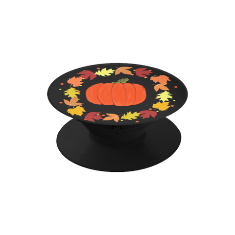 Pumpkin and Wreath Fall Phone Holder- 2 color options
