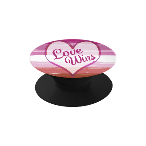 Lesbian LGBT Pride Love Wins Phone Holder