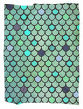 Mermaid Scale Minky Blankets