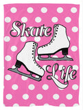 Skate Life Fleece Blanket