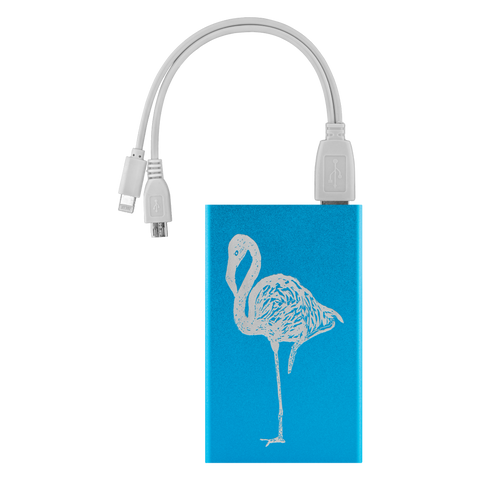 Flamingo Design Power Bank