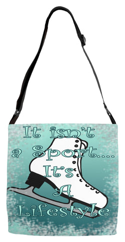 It isn't a Sport -Figure Skating Adjustable Tote Bag