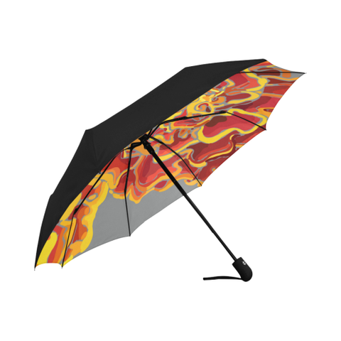 Marigolds by Hxlxynxchxle Anti-UV Auto-Foldable Umbrella (Underside Printing)