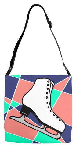 Abstract Skating Adjustable Tote  Bag