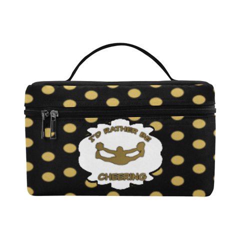 I'd Rather Be Cheering Cosmetic Bag Cosmetic Bag/Large