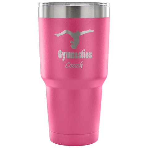 Gymnastics Coach 30 oz. Tumbler- Makes the Perfect Gift for Coaches