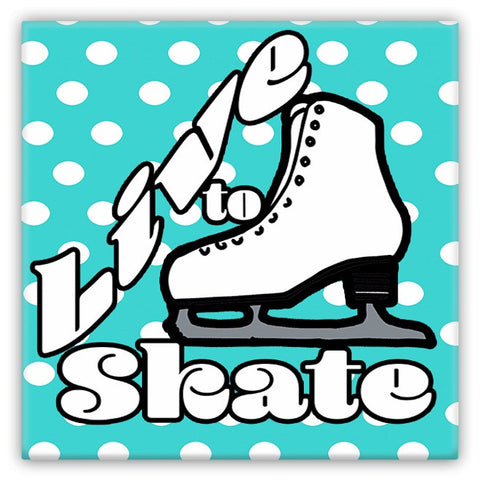 Figure Skating Magnet
