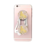 Figure Skating- Gold Skate Phone Holder-Style 25