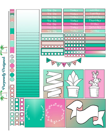 Big Happy Planner Sticker Sheet