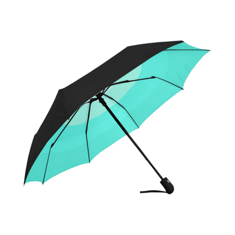 Tiered Automatic Umbrellas With Underside Printing