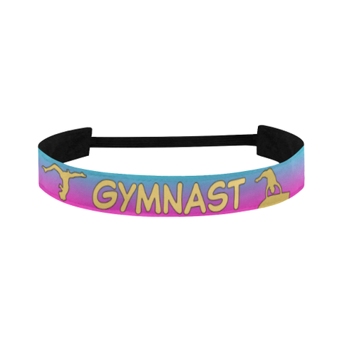 Gymnastics Sports Headband in Gold