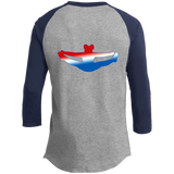 Cheer Doodle/Toe Touch Front and Back Designs- Youth Sporty T-Shirt