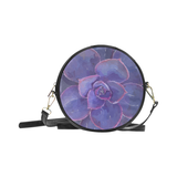 Purple Succulent - Round Sling Bag-by Hxlxynxchxle