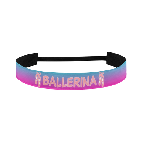 Ballerina Sports Headband in Ballet Pink