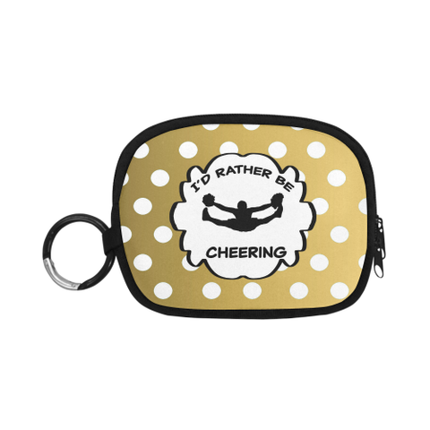 I'd Rather Be Cheering Small Coin Purse Coin Purse