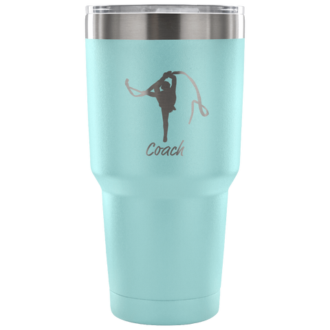 Rhythmic Gymnastic Coach 30 Oz Tumbler- Makes the Perfect Gift for Coaches