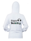 I'd Rather Be Twirling -Women's  Zip-Up Hoodie