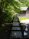 Mingus Mill - Grist Mill in the Smoky Mountains National Park-SET of 3 coordinating -11 by 14 inch Fine Art Prints