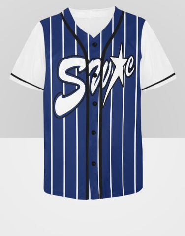 Custom Designed Baseball Style Sports Jerseys