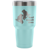 Best Skate Coach-Etched Tumbler -30 ounces Variety of Colors Available