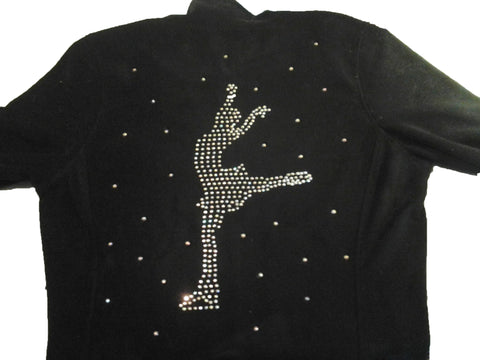 Custom Designed Rhinestone Figure Skating Jackets- This listing is a Base Price ONLY