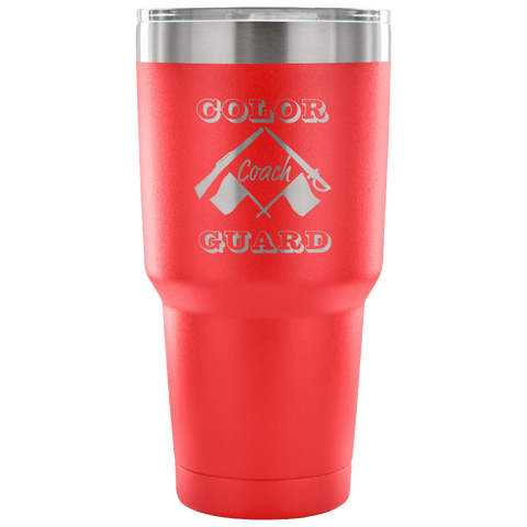 Color Guard Coach Tumbler- Makes the Perfect Gift for Coaches